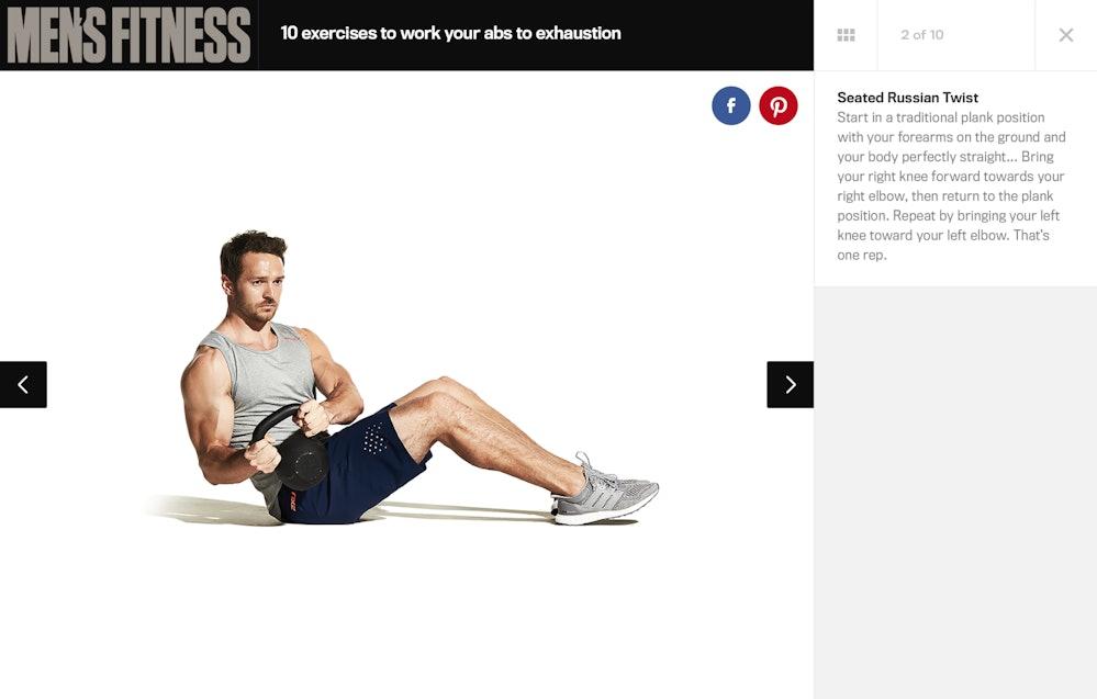 7609a7dda45 Men s Fitness website — AREA 17